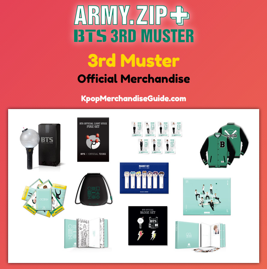 3rd Muster [ARMY.ZIP + ] Merchandise
