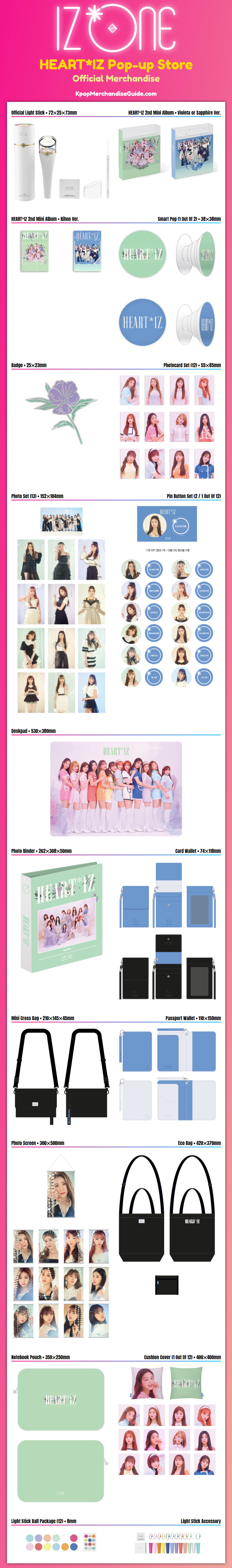 IZ*ONE (Izone) Merchandise