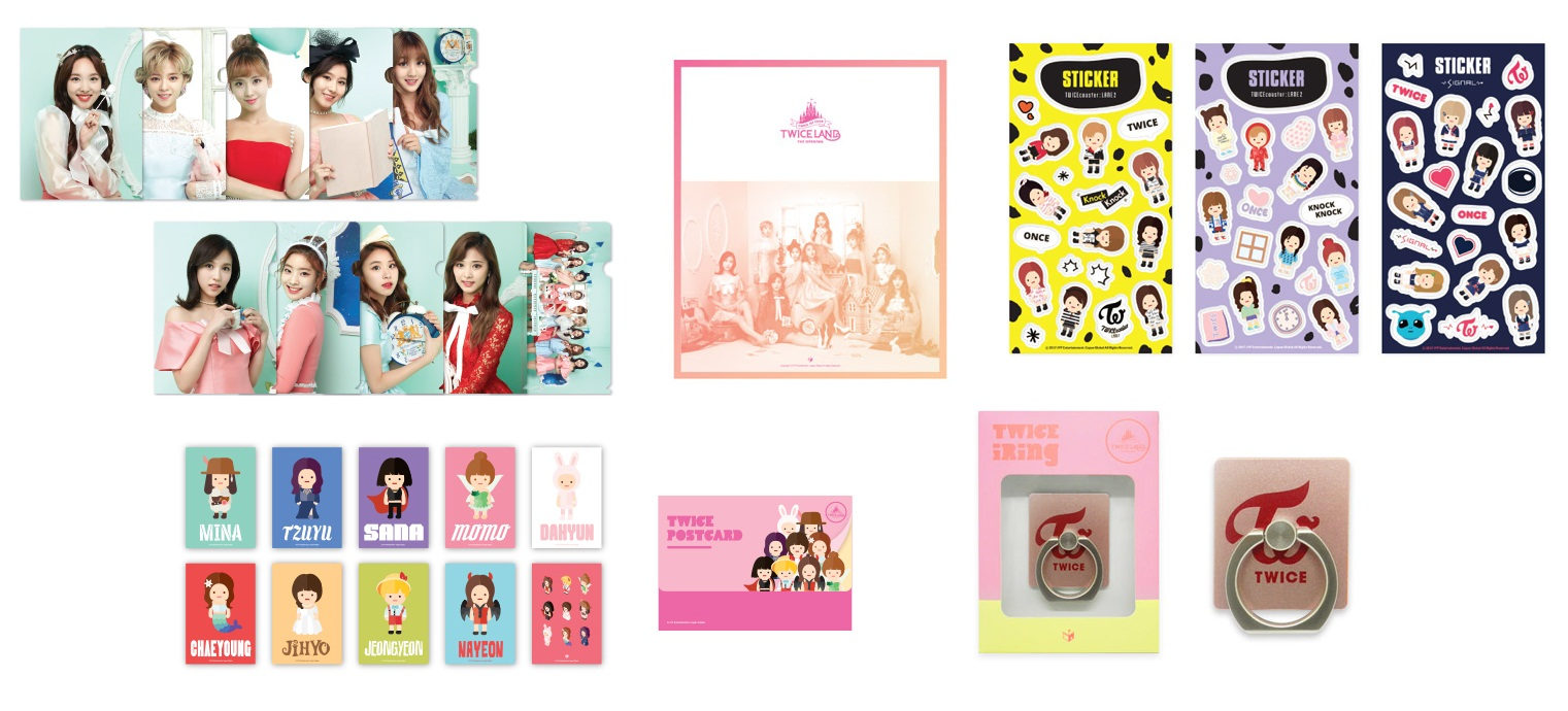 Twiceland Tour Official Merchandise